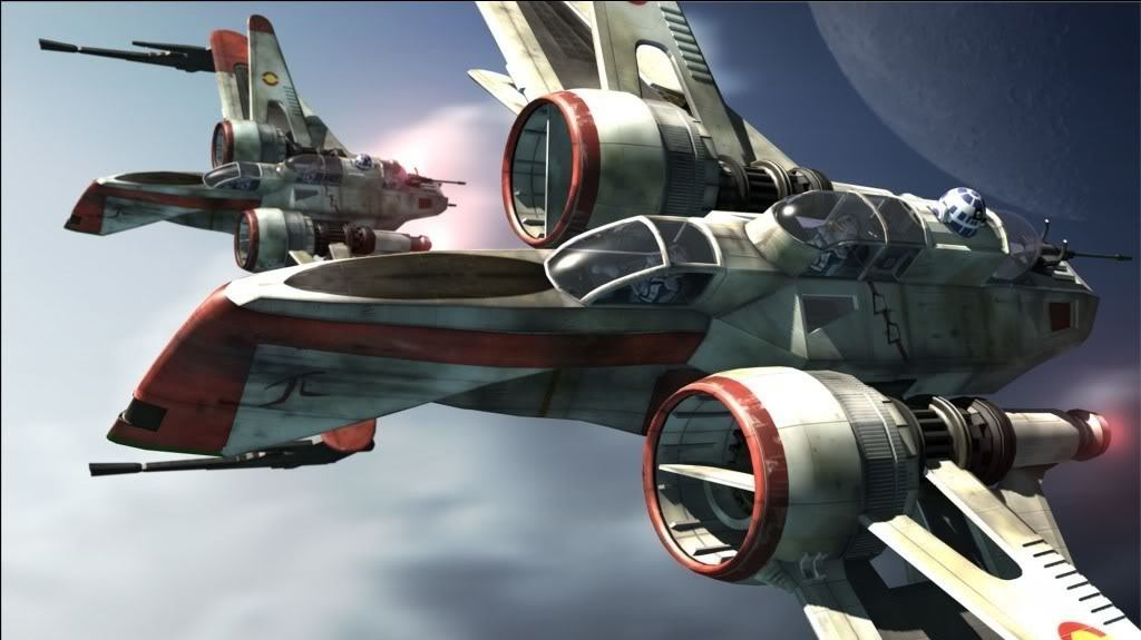 ARC-170 Starfighters