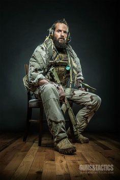 """S.P.E.A.R. Specialist Steve """"Collateral"""" Collinsworth"""