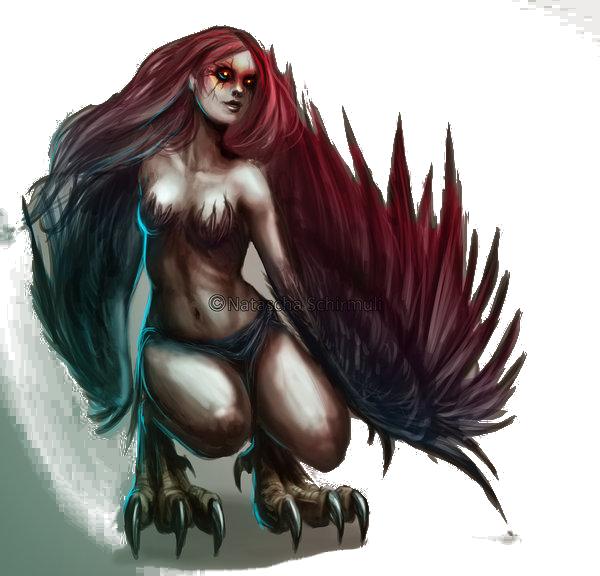 Queen Azona (Harpy Queen)