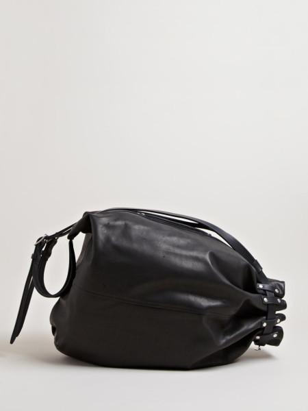 Tattooed Leather Bag