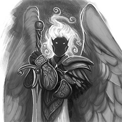 Azrandiel, Angel of the Long-Dead God