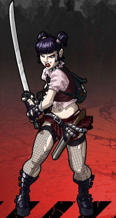 Goth Amy