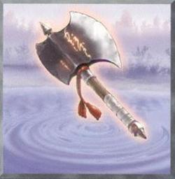 The axe of luck