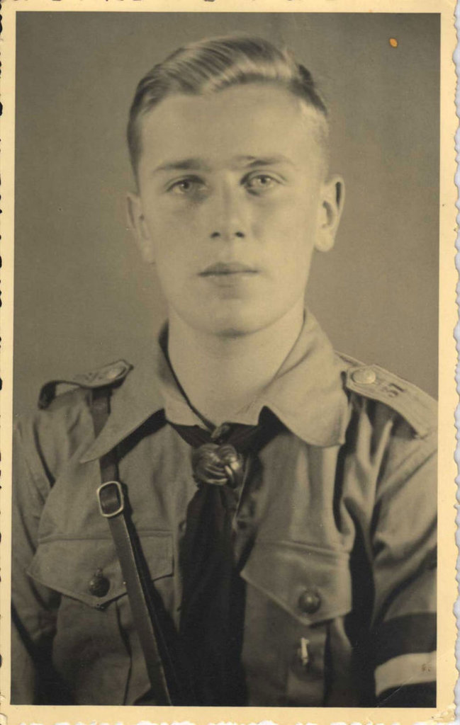 Junior Warrant Officer Erwin Bruckner