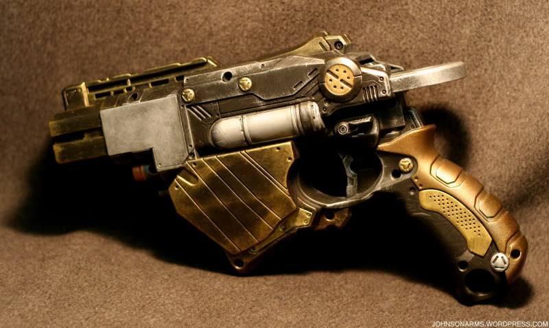 Prototype Fracturing Handgun