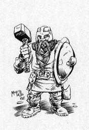 """Norvi """"Skullcrusher"""" Hammerstone"""