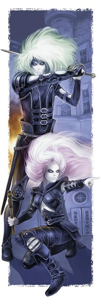 The Twin daggers (half-deceased)