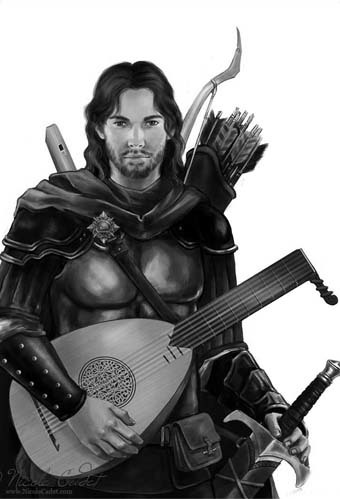 Branan Bragg the Bard of Draken Bridge