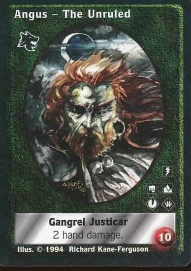 Angus the Unruled - NPC