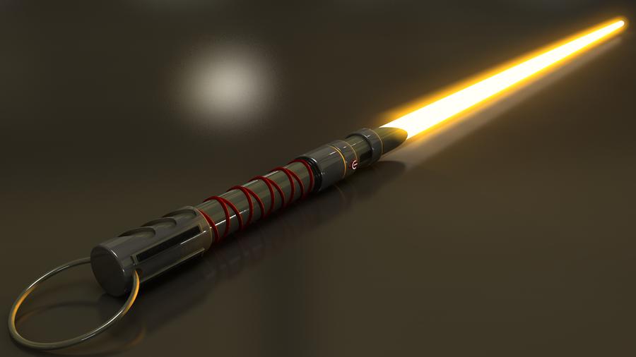 Hayden's Lightsaber #1