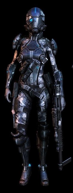 Eve's Mandalorian Armor