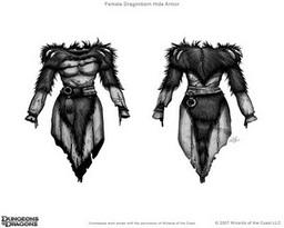 Bestial Hide Armor +1