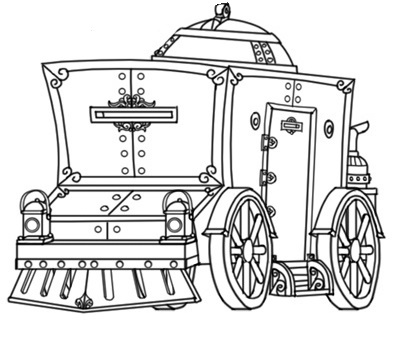 Figurine of Wondrous Power: Mechanical Carriage