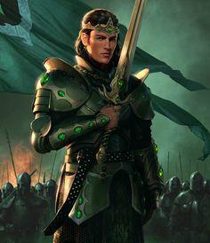 Jamus Alamar, King of Arthelle