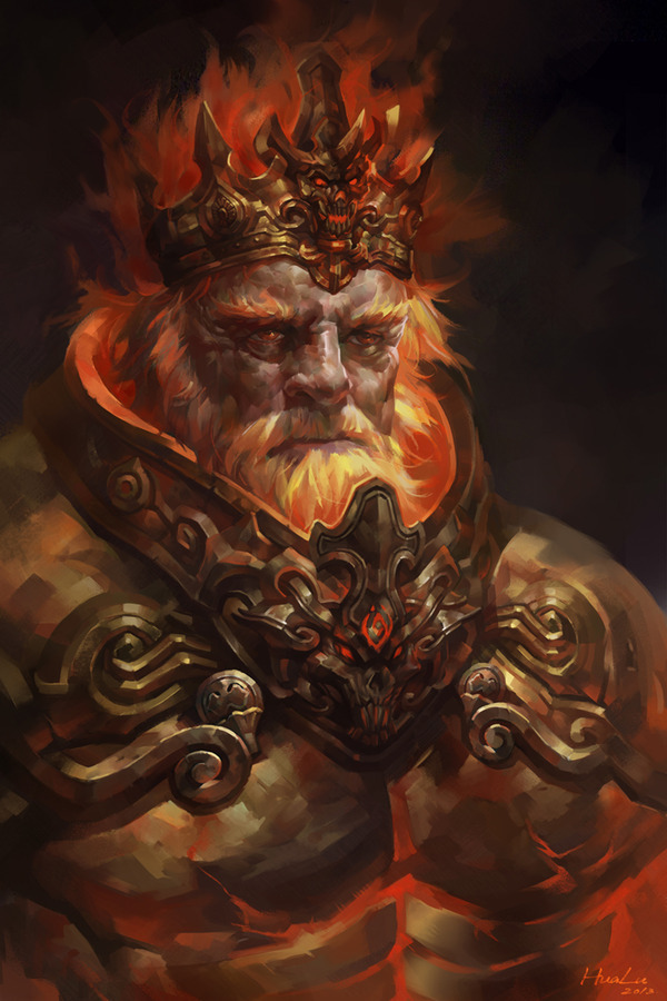 King Mogthrasir of Tjalf