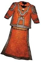 Silken Ceremonial Shimmering Robe +1