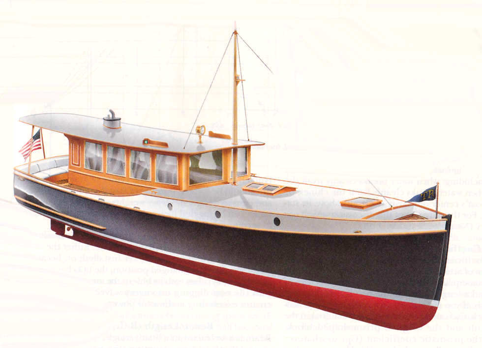 Thirty-Eight-Foot Diesel Yacht