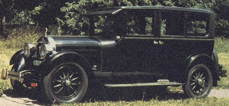 1925 Cadillac V-63 4-Door Sedan
