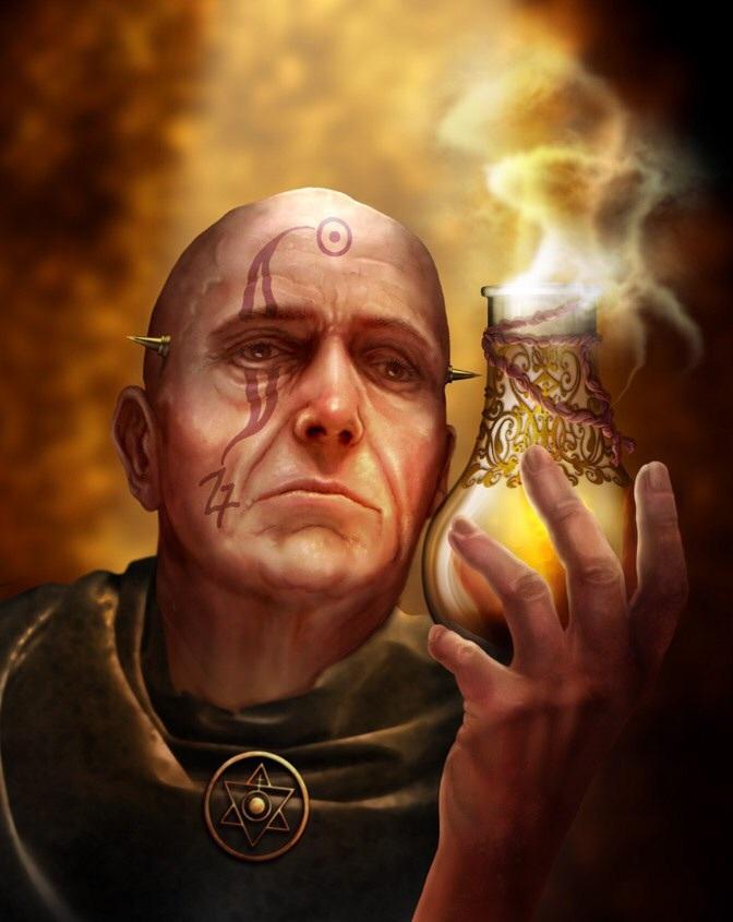 Gold Wizard Dagobert Gabor