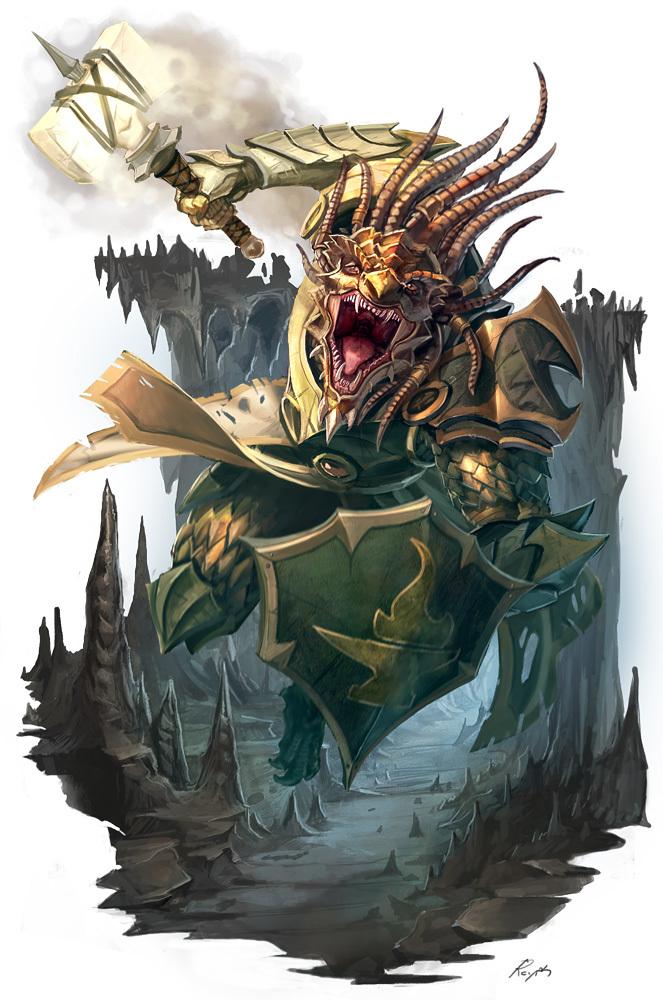 Duke Kriven the Dragonborn