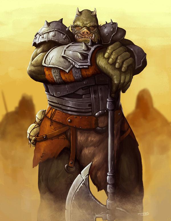 Gamorrean Warlord