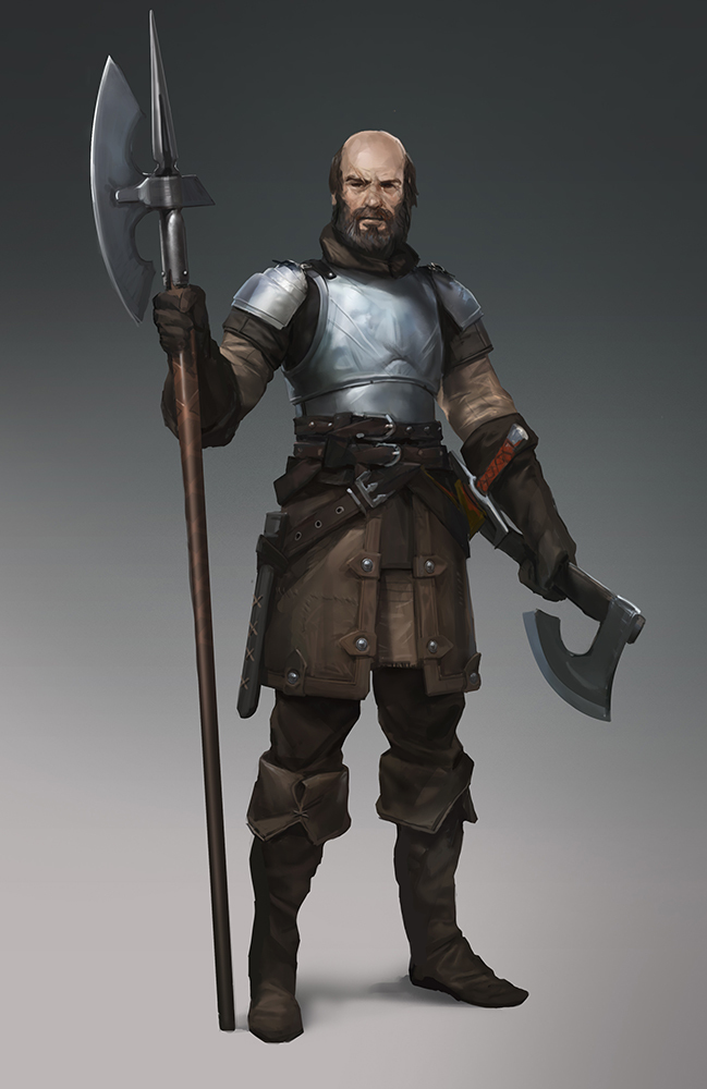 Cade Thorngage, Southfort Commander