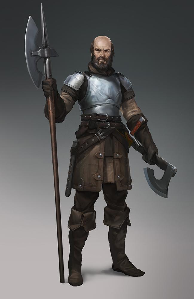 Cade Thorngage, Southfort Commander