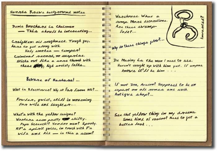 Peter Gavvin's Notebook
