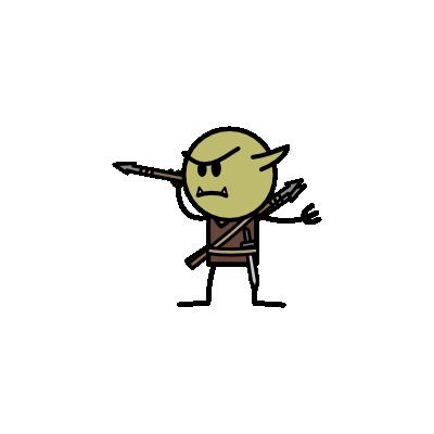Monster- Goblin Javelintosser (02)
