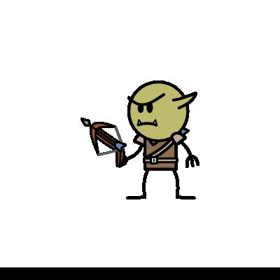 Monster- Goblin Sharpshooter (02)