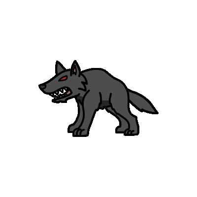 Monster- Worg Lesser (02)