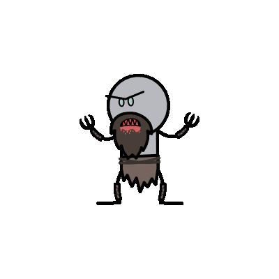 Monster- Ghoul Dwarf (05)