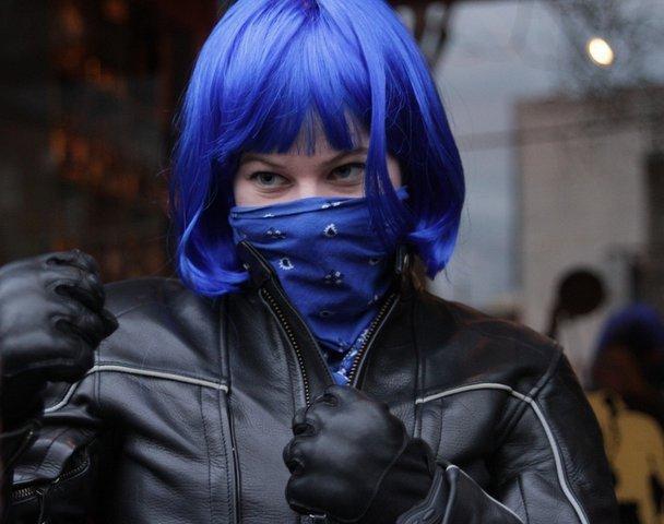 Blue Fist