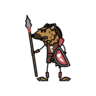 Monster- Gnoll Broken Fang Warrior (06)