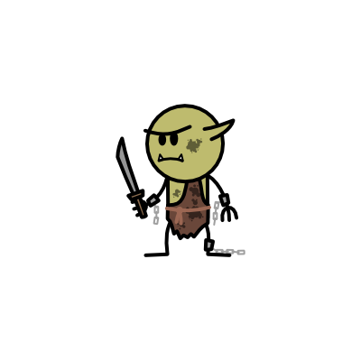 Monster- Goblin Slave (02)