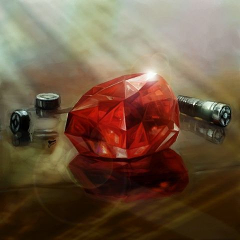 Go'lor's saber crystal