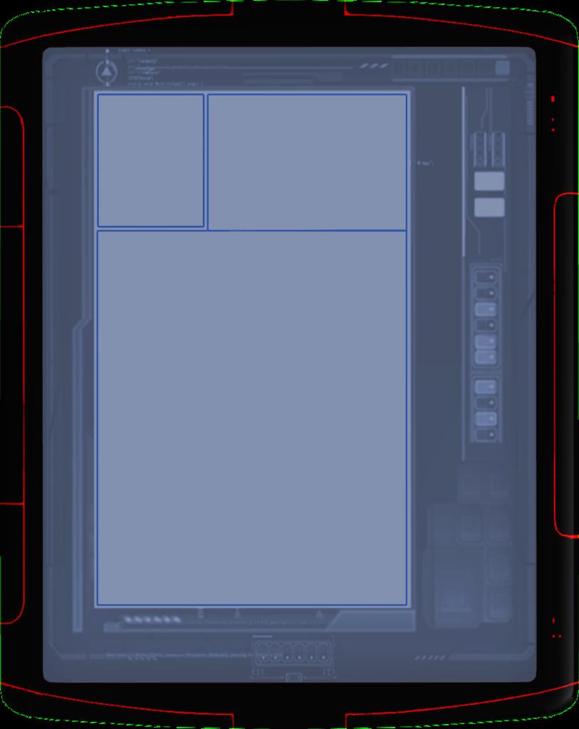 "H-3 Horizon ""Blue Lotus"" Compad"