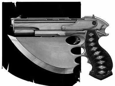 Chekla Arms Consortium B2 Blade-Pistol