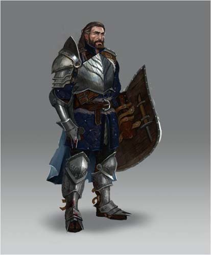 Sven Koray, Eldritch Knight, City Guard