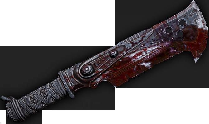 Cuchillo del carnicero
