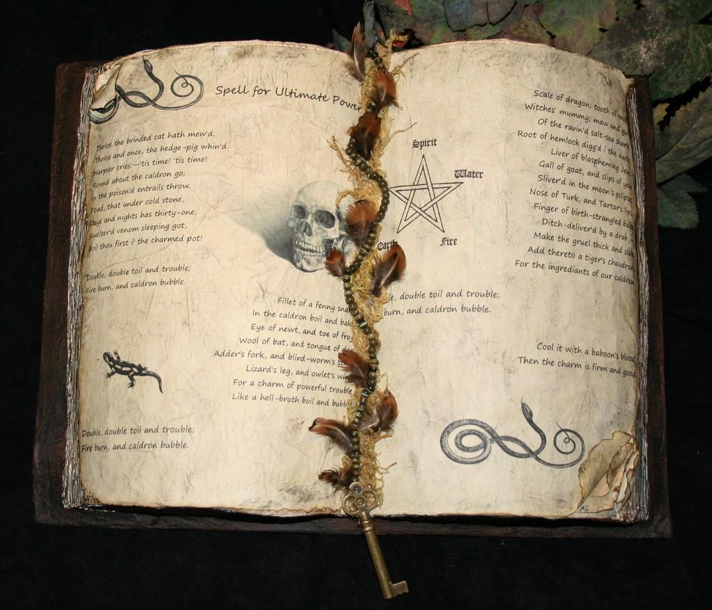 Terentius' Spell book