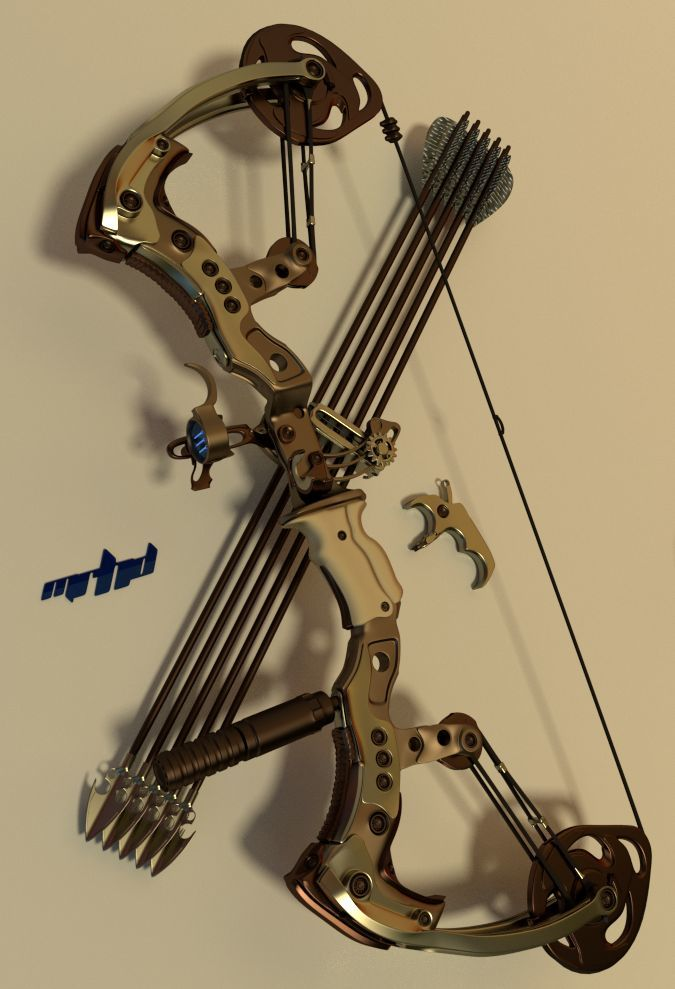 Wess Daniel's compound bow