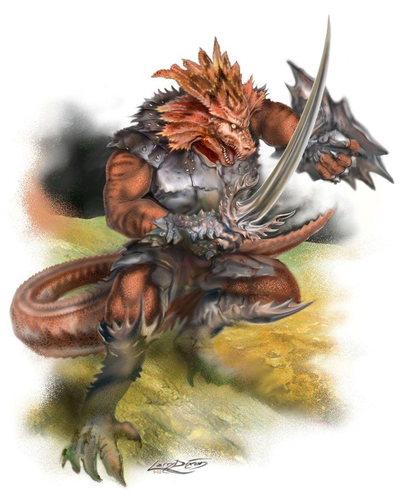 Varrakus, Lord of Lizards