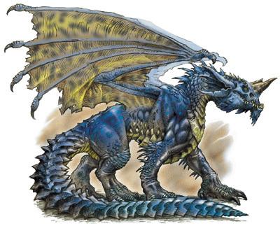 Adult Blue Dragon
