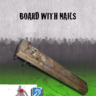 Board with Nails
