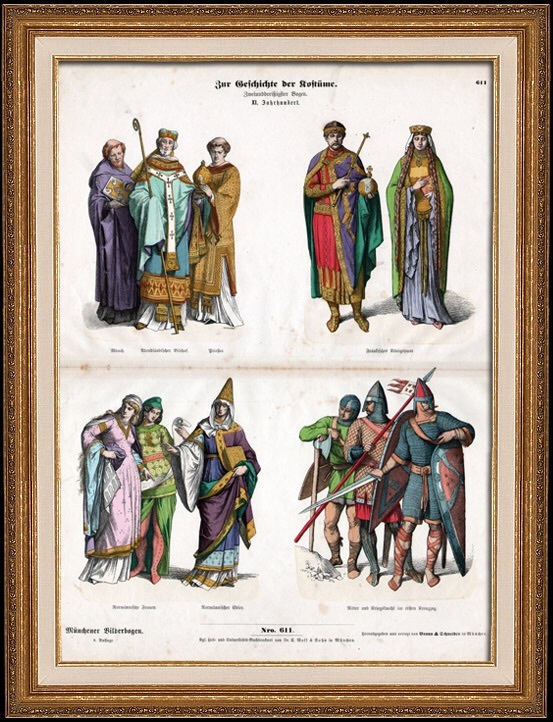 11th century clothing