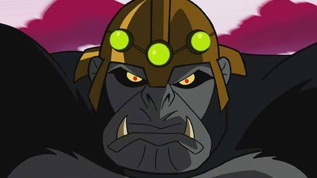 Kong, Gorilla Psychic Monk from Dimension X