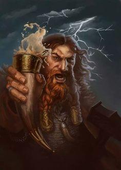 Colborn Heilige der Odin