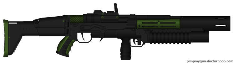 """Blast and Smash"" Energy Rifle"