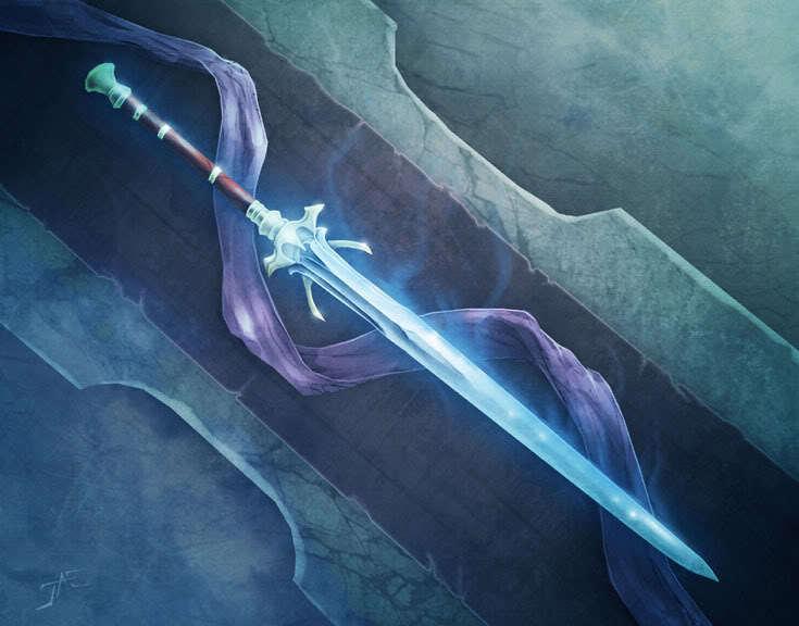 Andaragon's Rage Sword
